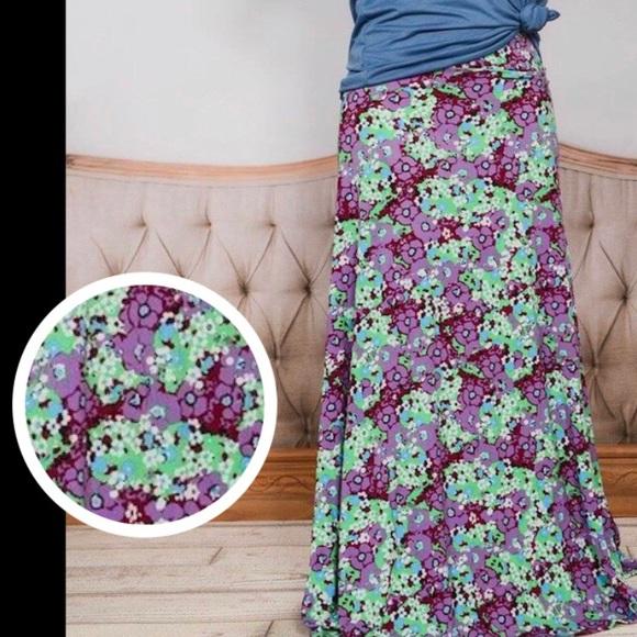 aea1b81823 LuLaRoe Skirts | Vintage Maxi Skirt Dress Floral | Poshmark